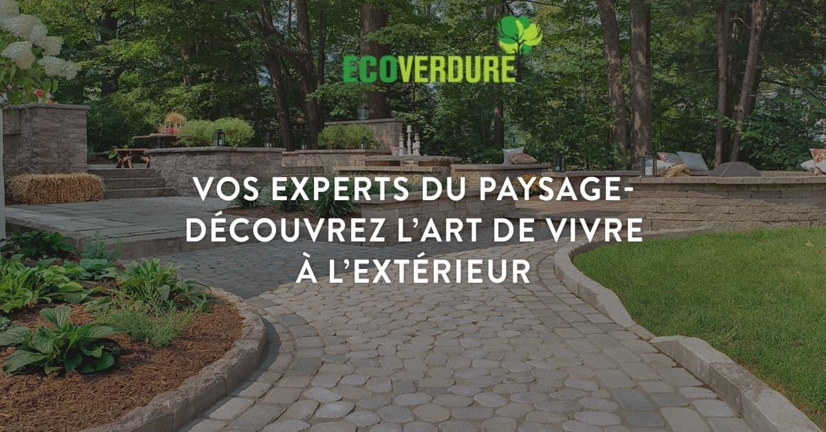 Aménagement Paysager U2013 Eco Verdure U2013 Créateur Du0027espaces De Vie Extérieurs