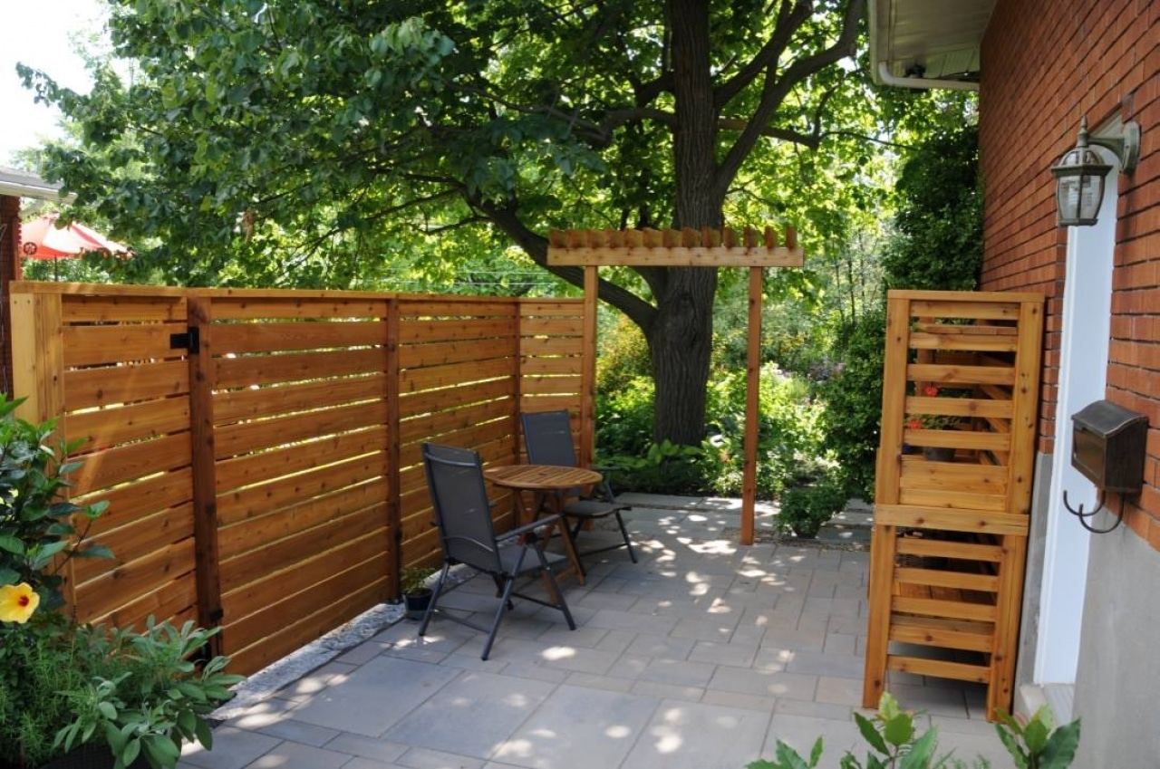 meuble sur mesure en c dre rouge eco verdure. Black Bedroom Furniture Sets. Home Design Ideas
