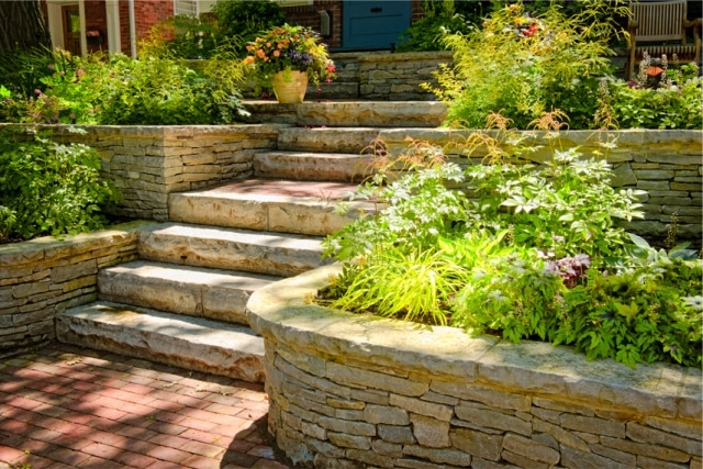 Paver - wall - natural stone
