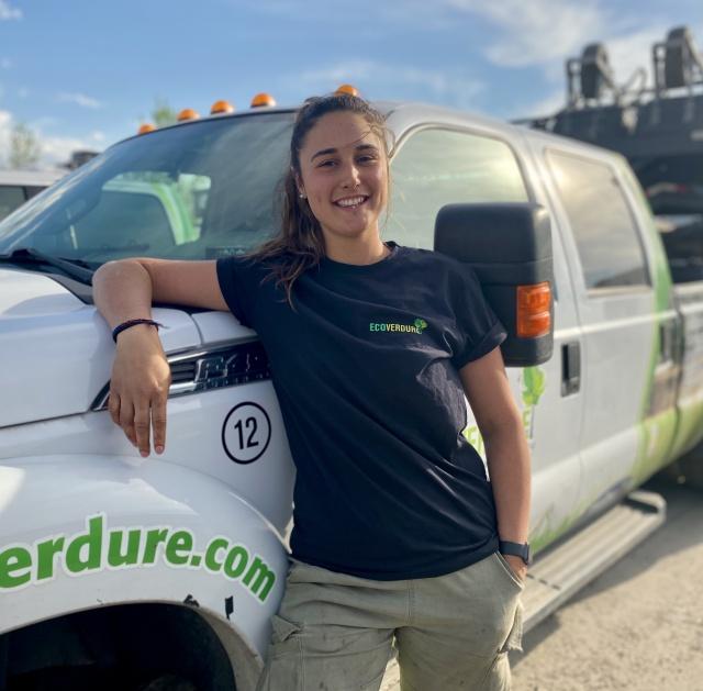 Arianne Renaud - Chef d'équipe - entretien paysager / horticulture