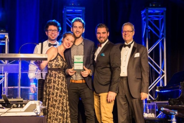 Eco-Verdure has been named Maître Paysager business of the year!