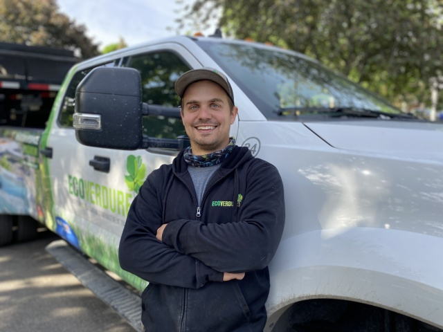 Michaël Boucher - specialised worker - landscaping