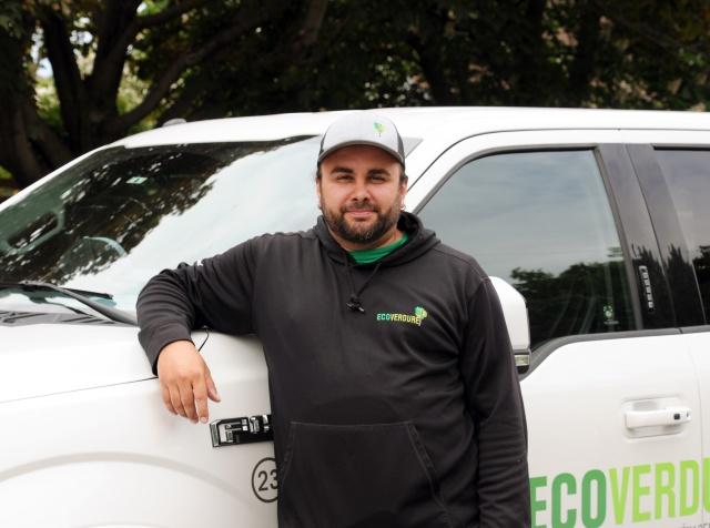 Miguel Fortin - Chef d'équipe - entretien paysager