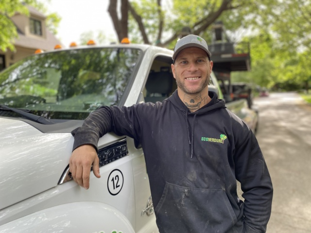 Renaud Hébert - specialised worker - Landscaping