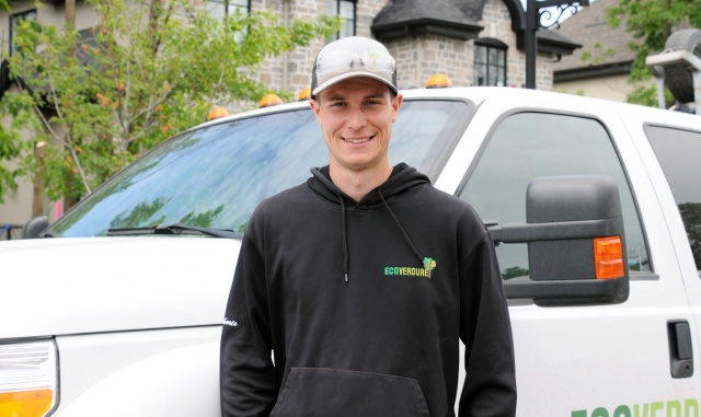Zacharie Labrecque - Team leader - Landscaping