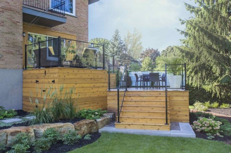 Patio ext rieur quel mat riau choisir eco verdure - Couleur de teinture pour patio ...